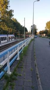 tramhalte aan de Kraayensteinlaan